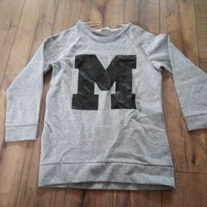 Girls michigan shirt.  Like new